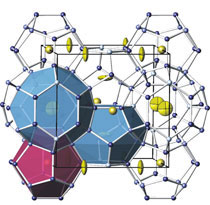 crystal structure of a nano-cage