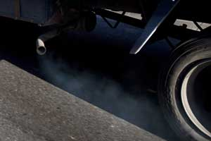 vehicle exhaust pollution
