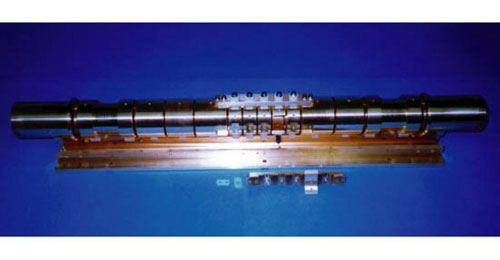 The multi-ring trap, which is used to trap and manipulate a large number of antiproton