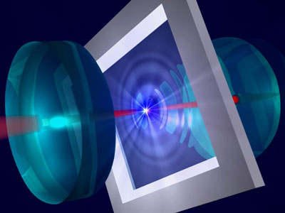 Current technology should allow an ultrathin vibrating membrane between two mirrors to be cooled by laser light to its quantum mechanical ground state