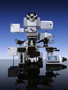 The LSM 7 MP Laser Scanning Microscope from Carl Zeiss