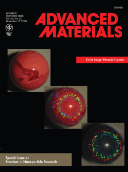 A special edition of Advanced Materials magazine on 'Frontiers in Nanoparticle Research' featured work by ASU bioengineering faculty