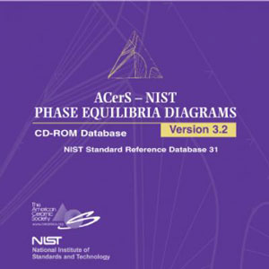 The ACerS-NIST Phase Equilibria Diagrams CD-ROM Database (Version 3.2)