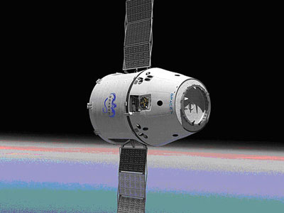 SpaceX DragonLab - a free-flying, recoverable, reusable spacecraft capable of hosting pressurized and unpressurized payloads