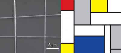 Mondrian-like painting