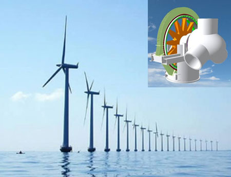 Superconducting generators will provide offshore wind power plants with higher performance at lower costs