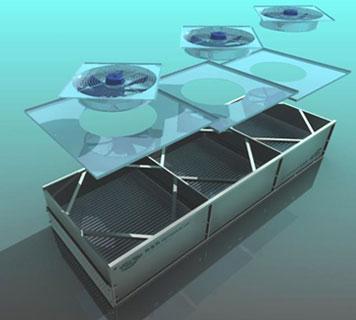 modular air cooled condenser