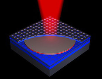 on-chip laser design