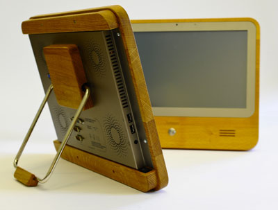 environmentally-sound touch-screen PC