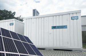 energy module generates, stores, and distributes electricity