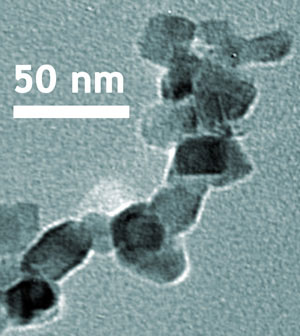 nanoscale crystalline structure of titanium dioxide
