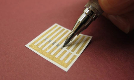 drawing carbon nanotube sensors onto sheets of paper