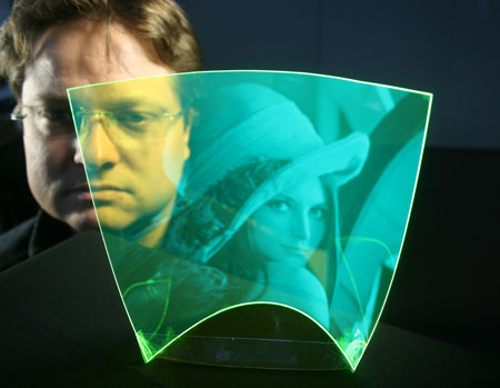 flexible and completely transparent image sensor