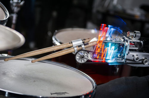robotic drumming prosthesis