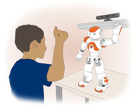 a study on the interactions between toddlers and robots Original paper improving collaborative play between children with autism spectrum disorders and their siblings: the effectiveness of a robot-mediated intervention based on lego therapy.