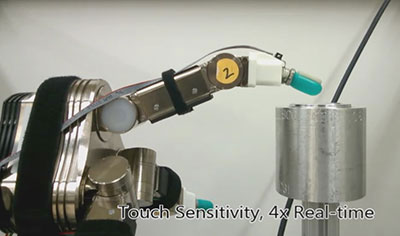 Robots grasping hands (w/video)