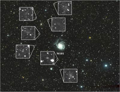 Seven New Dwarf Galaxies