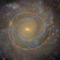 Astronomers model, determine how disk galaxies evolve so smoothly - Nanowerk