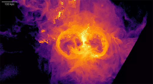 Largest Explosion Seen Since Big Bang Rocked Distant