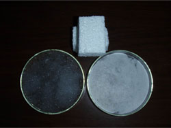 Waste polystyrene suberabsorbent material