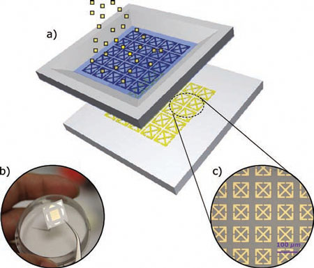 micrometer-sized metamaterial resonators sprayed on paper substrates