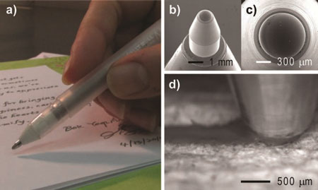 Pen-on-Paper Flexible Electronics
