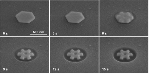 fabrication of a nanogear