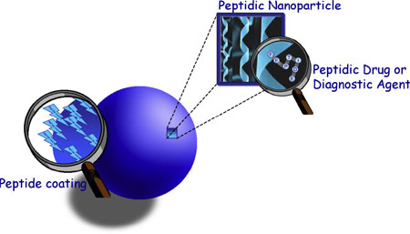 all-peptidic nanoplatforms for drug delivery into the brain
