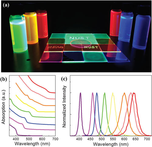Inorganic Perovskite Quantum Dots For Lighting And Displays