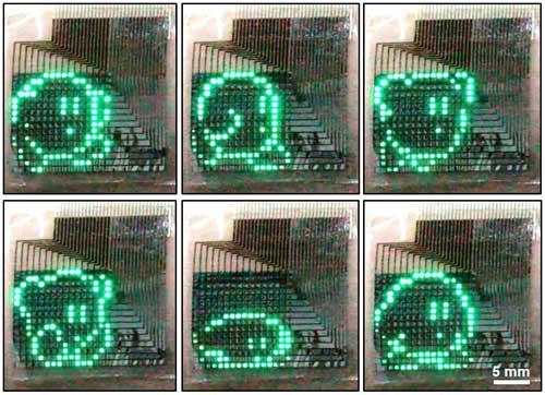 QLED passive matrix