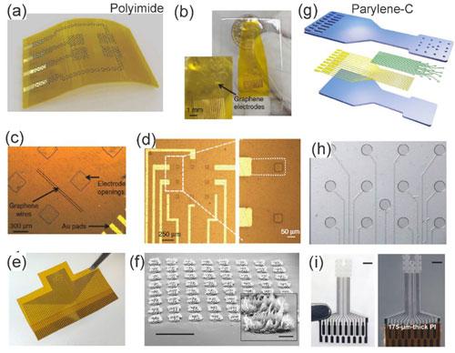 Design of graphene-based in vivo neuronal probes